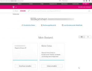 Deutsche Telekom Kundencenter Festnetzbereich