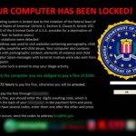 Ransomware / Verschlüsselungstrojaner Meldung